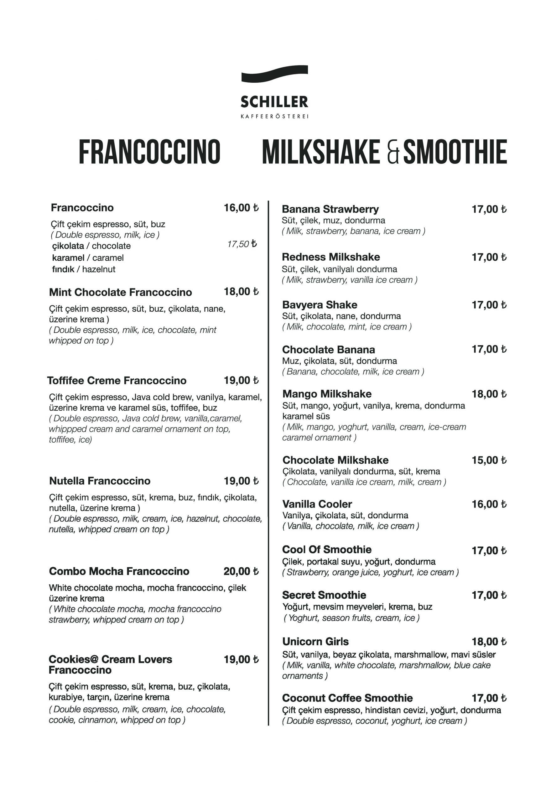 Milkshake & Smoothie
